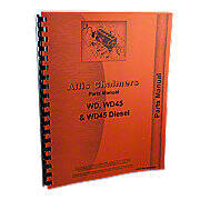 Allis Chalmers WD, WD45  Parts Manual