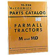 International M, MD, MV, MDV Parts Manual Reprint