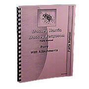 Massey Harris Pony Parts Manual Reprint