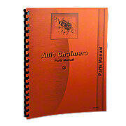 Allis Chalmers G Parts Manual Reprint
