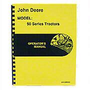 Operators Manual Reprint: JD 50