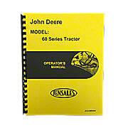 Operators Manual Reprint: JD 60 Rowcrop