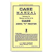 Operators Manual Reprint: Case L