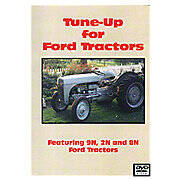 Ford 9N, 2N Tune-Up Video  (Dvd)