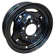 "3"" x 12"", (5 lug) Front Wheel With Wheel Weight Holes"